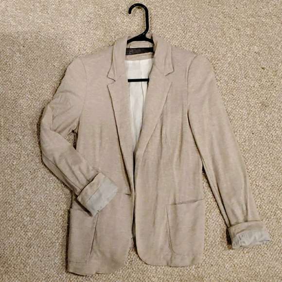 Zara cream blazer